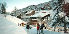 Брид-ле-Бан – самый экономичный курорт французских Трех долин