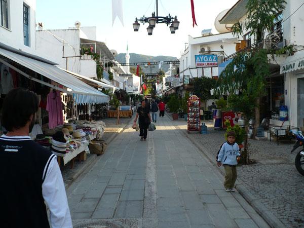 Ялыкавак. Торговая улица / Фото из Турции
