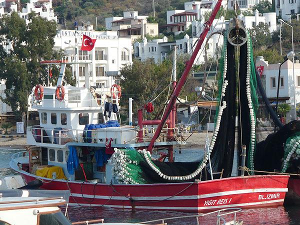 Гюндоан. Рыбный промысел / Фото из Турции