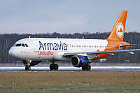 Airbus А320-211 / Армения