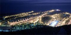 Новые трассы на финском горнолыжном курорте Рука