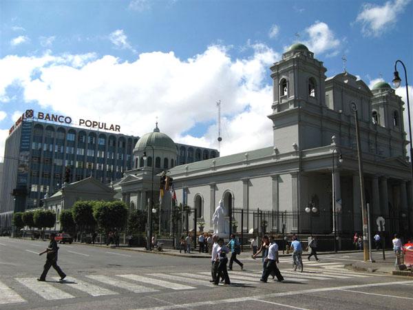 Центральные улицы Сан-Хосе / Фото из Коста-Рики