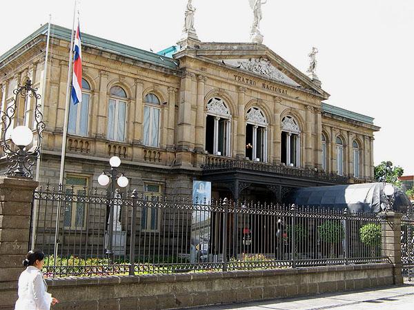 Национальный театр в Сан-Хосе / Фото из Коста-Рики
