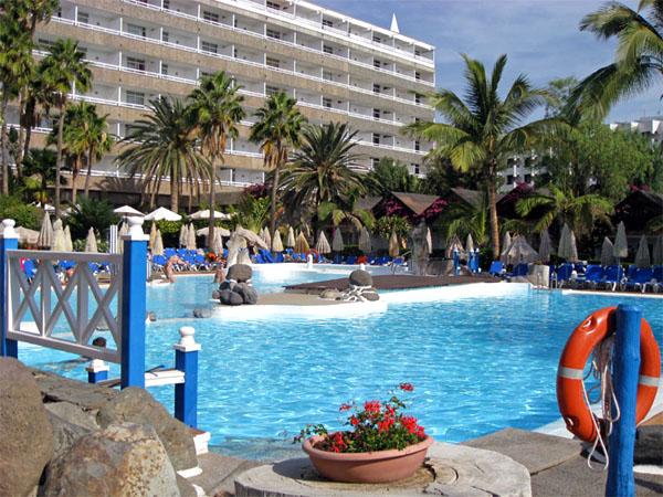 Наша гостиница Iberostar Costa Canaria 4* / Фото из Испании