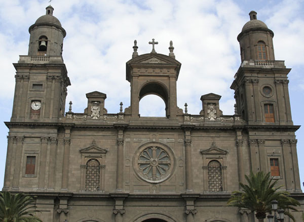 Собор на Plaza Santa Anna / Фото из Испании