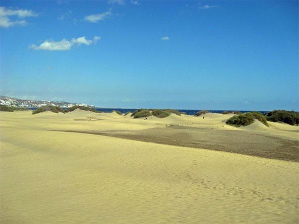 Дюны в Маспаломасе / Фото из Испании