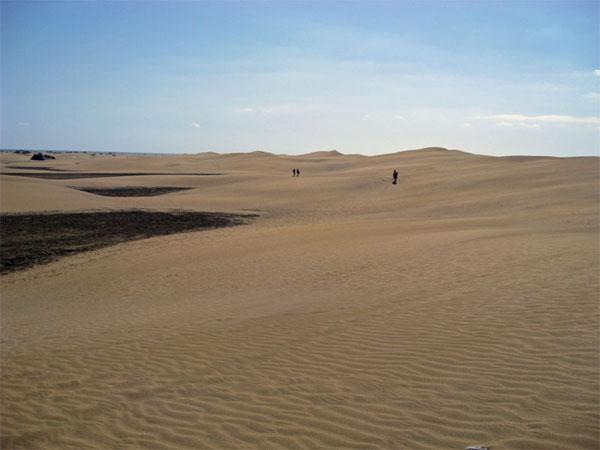 Настоящая пустыня, Маспаломас / Фото из Испании