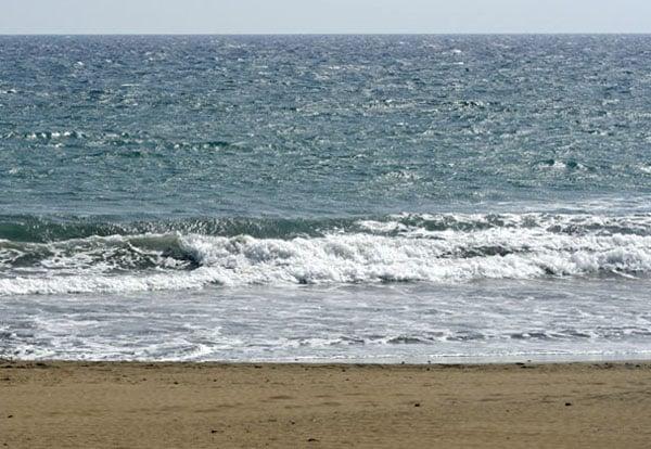 Осень у побережья океана / Фото из Испании