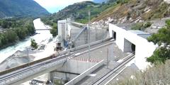 Регулярные поезда по тоннелю Лёчберг пойдут 9 декабря