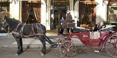 Бесплатную прогулку в карете предлагает парижский отель Plaza Athenee