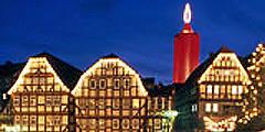 36-метровая свеча - достопримечательность Германии