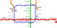 В Пекине снижена цена поездки на метро