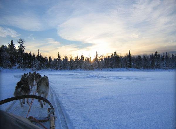На маршруте / Фото из Финляндии
