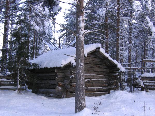 А где курьи ножки? / Фото из Финляндии