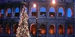 Рождественская елка украсила Рим