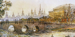 В Москве появится новая пешеходная зона