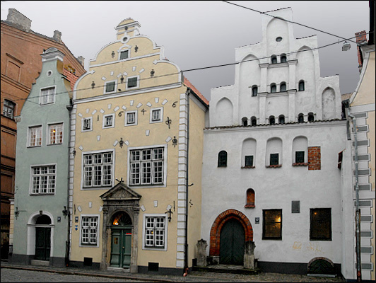 Дома-братья / Фото из Латвии