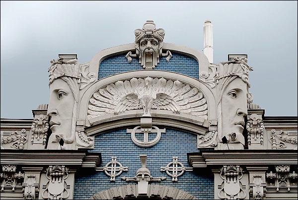 Архитектурные шедевры Риги / Фото из Латвии