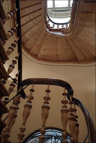 Лестница в доме Беньяминов / Фото из Латвии