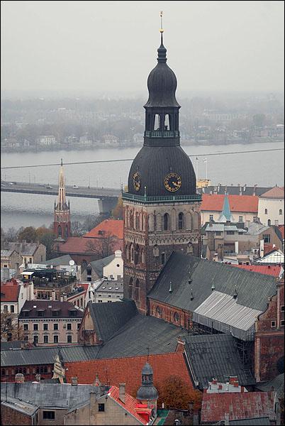 Вид на Ригу / Фото из Латвии
