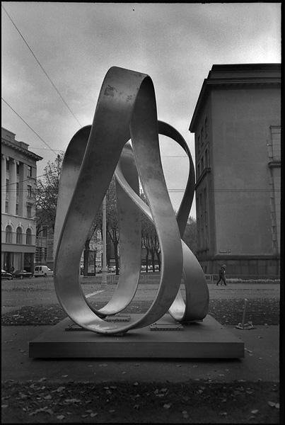 Памятник 800-летию Риги / Фото из Латвии