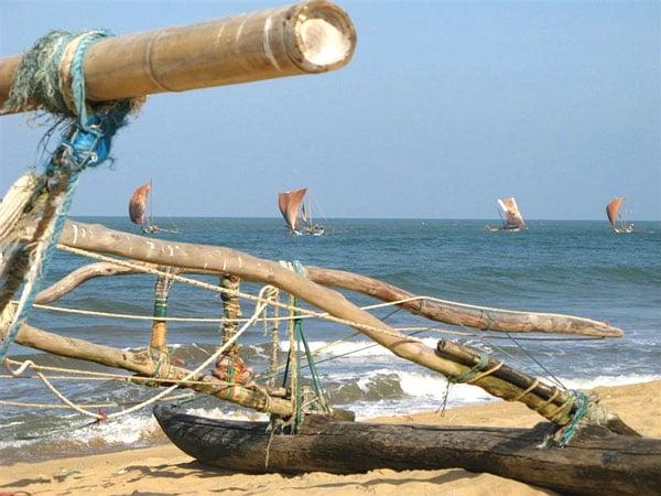 На берегу / Фото со Шри-Ланки