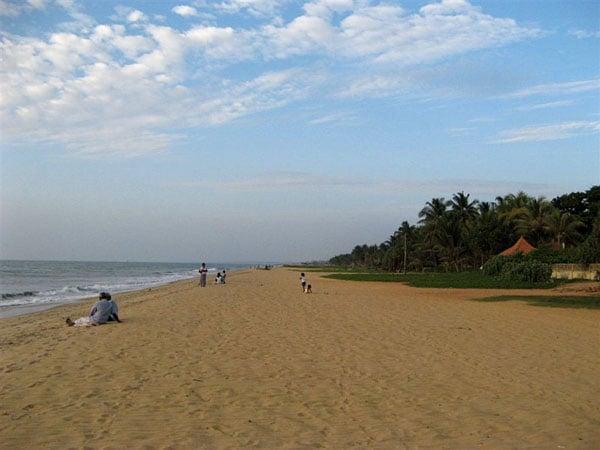 Пляж в Негомбо / Фото со Шри-Ланки