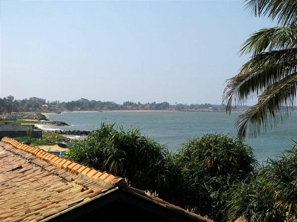 Вид на Индийский океан / Фото со Шри-Ланки