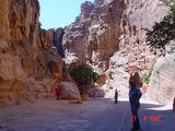 Каньон в Петре / Иордания