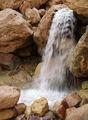 Водопад в горах / Иордания