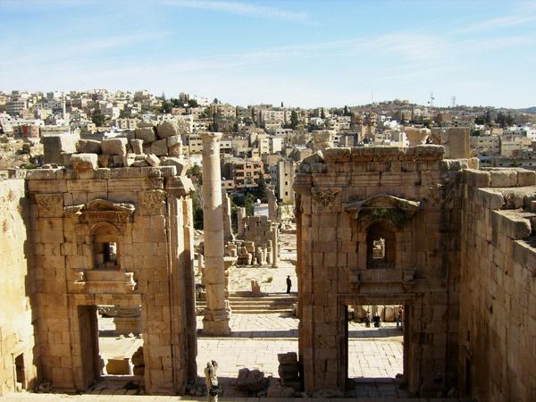 Джераш - древняя Гераса / Фото из Иордании