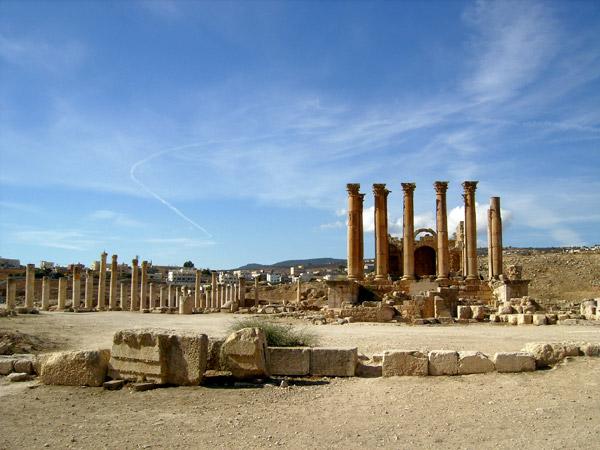 'Восточные Помпеи' / Фото из Иордании