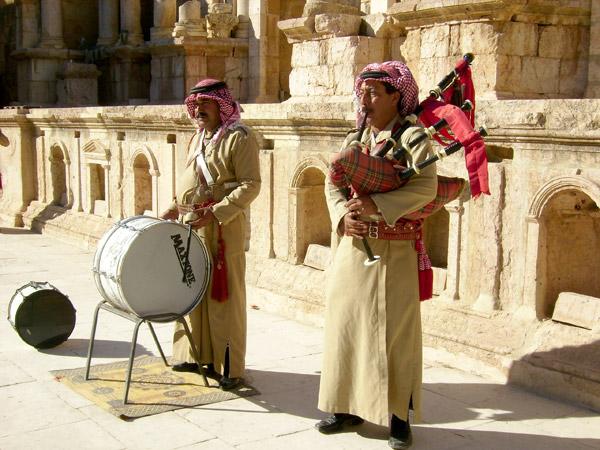Было и музыкальное сопровождение / Фото из Иордании