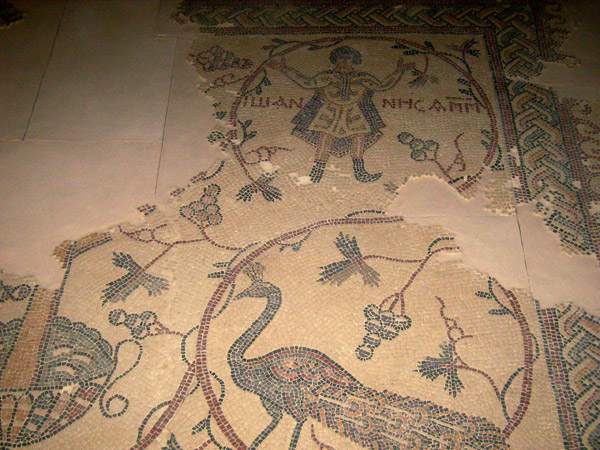 Мозаики VI века / Фото из Иордании