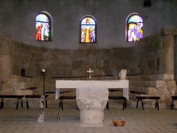 В храме / Фото из Иордании