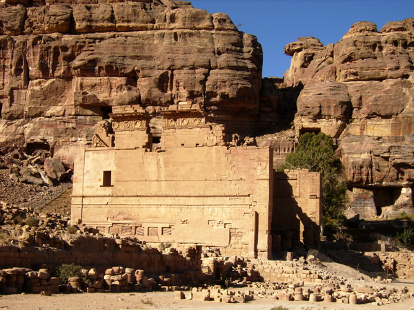 Улицы древнего города / Фото из Иордании