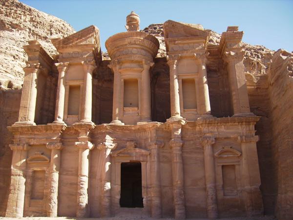 'Верхний' храм, Петра / Фото из Иордании