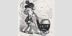 Карикатура на курильщика