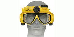 Для любителей дайвинга создана маска-фотоаппарат