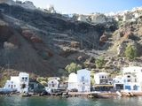 домики на скалах / Греция