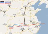 внутренние маршруты / Китай