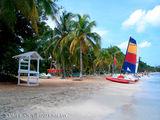 Пляж, почти безлюдный / Ямайка