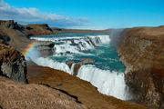 Золотой водопад Гулффосс / Исландия