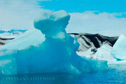 Айсберг. Ледяной сфинкс / Исландия