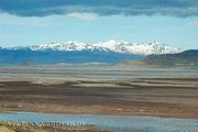 Исландская природа - картина, написанная акварелью / Исландия