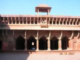 Агра-Форт - внутренние помещения / Индия