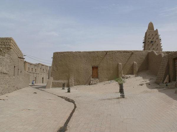Томбукту, Большая мечеть / Фото из Мали