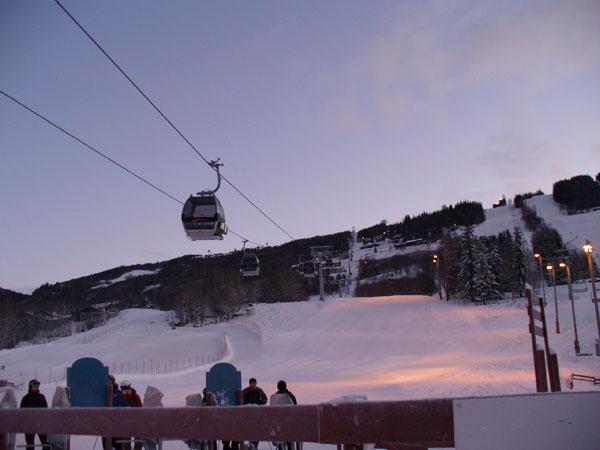 Трассы курорта ранним утром / Фото из Норвегии