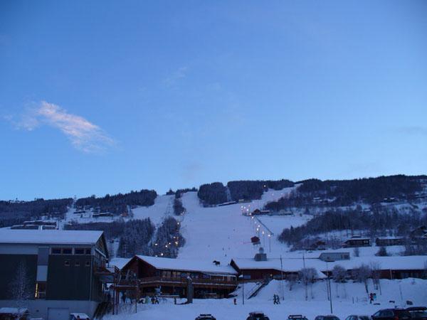 Лыжный центр курорта Хафьель / Фото из Норвегии