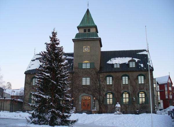 Здание местной администрации / Фото из Норвегии